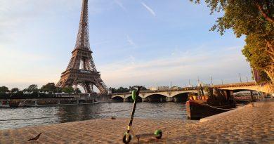 trottinette électrique Paris libre-service