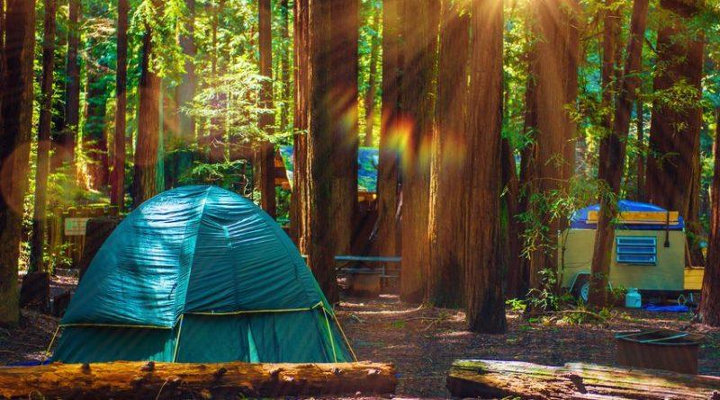 Camping en tente