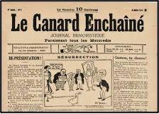 dessin de caricature politique - Le Canard Enchainé